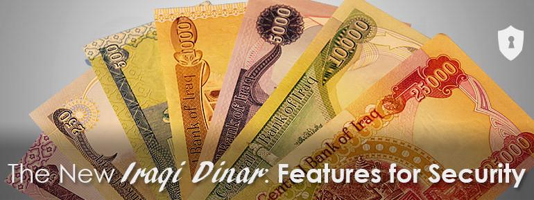 Iraqi Dinar security features